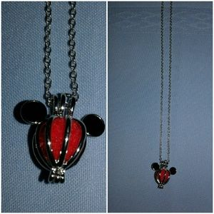 Jewelry - MICKEY MOUSE INSPIRED NECKLACE   OIL DIFFUSER NIP
